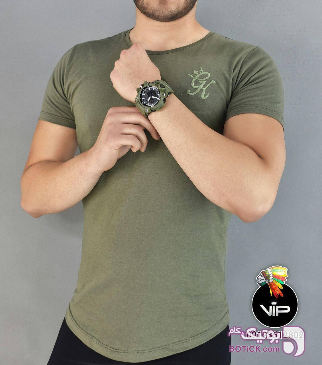 تیشرت مردانه سبز تی شرت مردانه