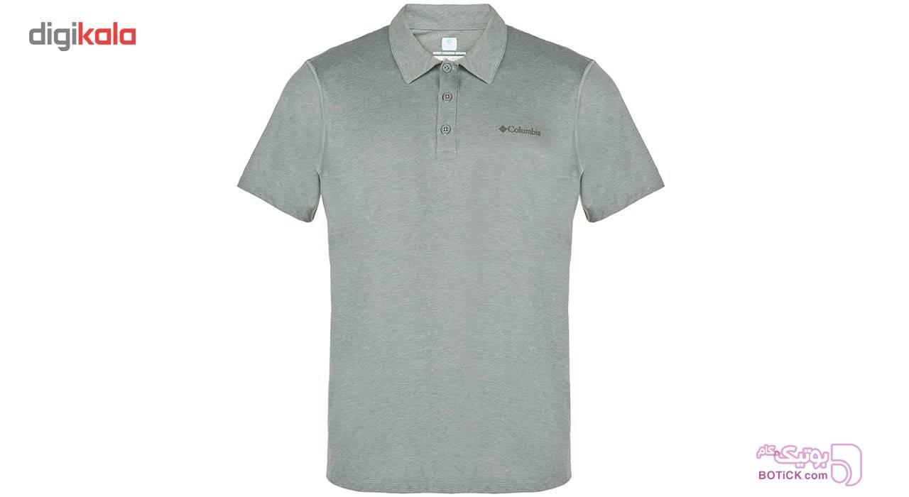 پلو شرت مردانه کلمبيا مدل Silver Ridge Zero طوسی تی شرت مردانه