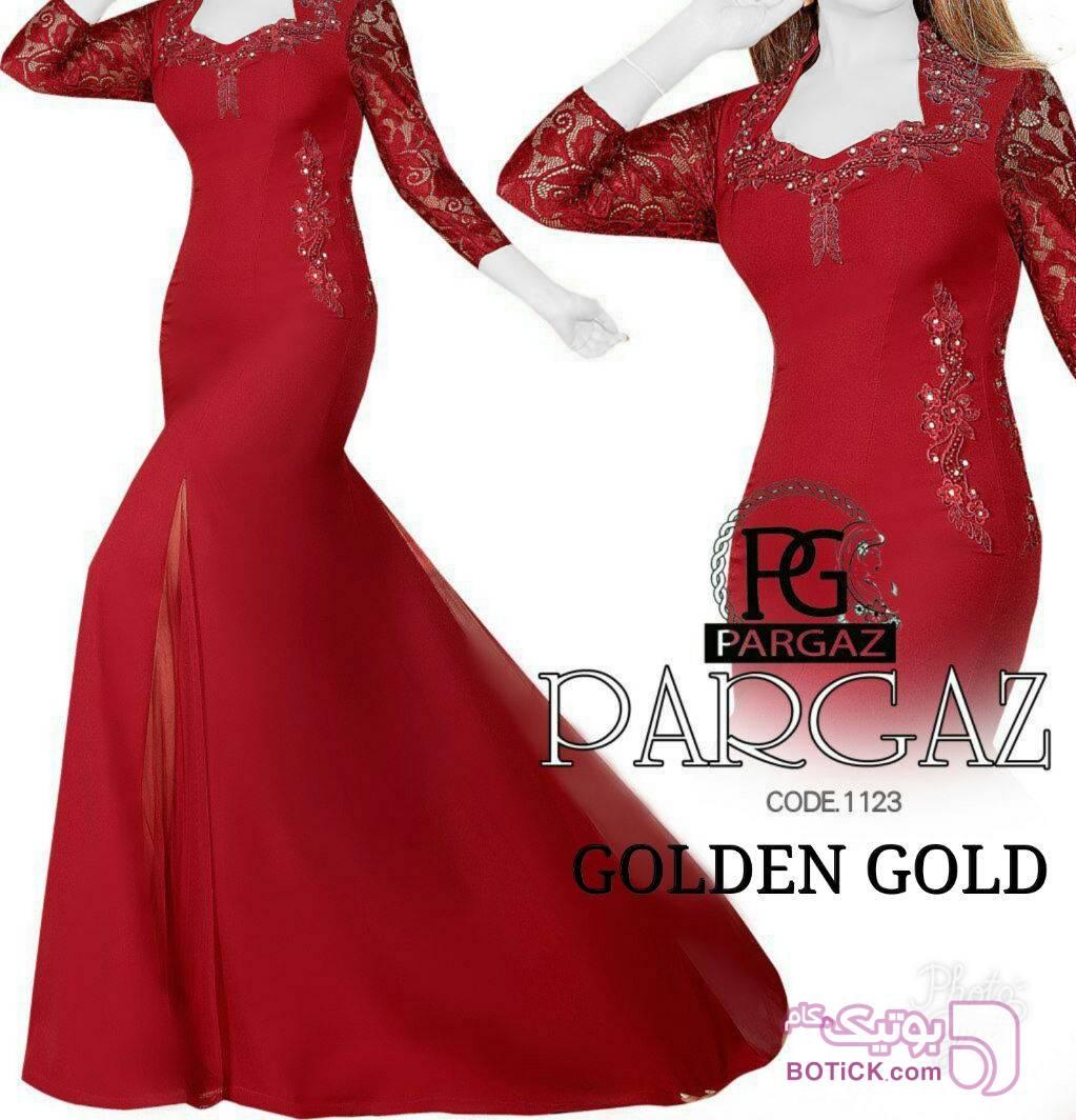 مجلسی ماکسی مدل کرشمه قرمز لباس  مجلسی