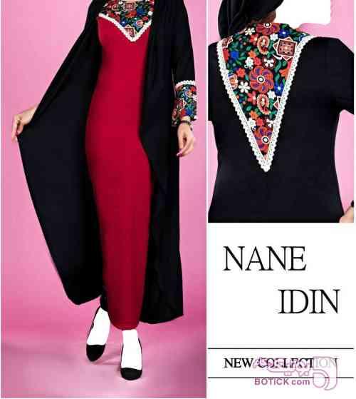پیراهن سنتی مشکی لباس سنتی