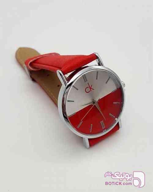 ساعت CK زنانه قرمز ساعت