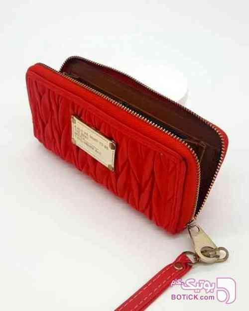 کیف پول زنانه KMG  قرمز كيف زنانه