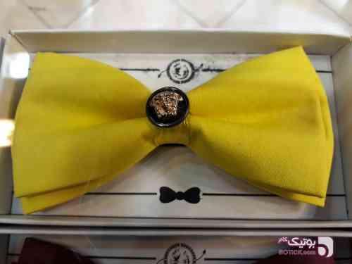 کراوات و پاپیون زرد كراوات و پاپيون