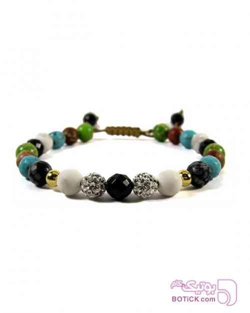 دستبند سنگهای لوکس سبز دستبند و پابند