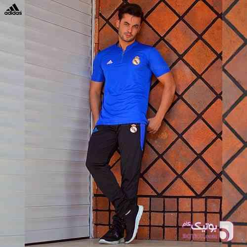 ست تيشرت و شلوارADIDASمدلARKA آبی ست ورزشی مردانه