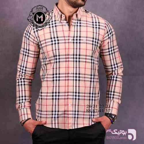 پیراهن مردانه  BURBURRY کرم پيراهن مردانه