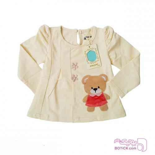 بلوز  دخترانه کرم لباس کودک دخترانه