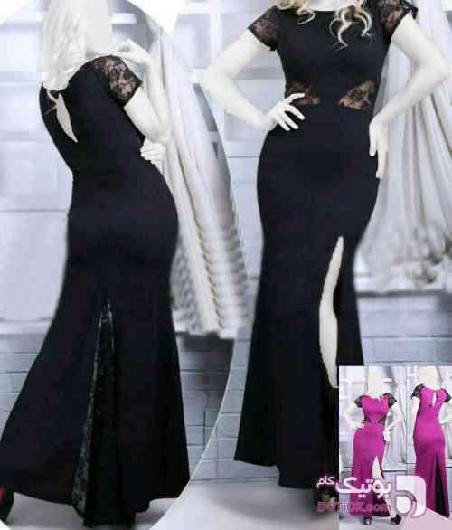 فروشگاه لباس مجلسی ویوا بنفش لباس  مجلسی