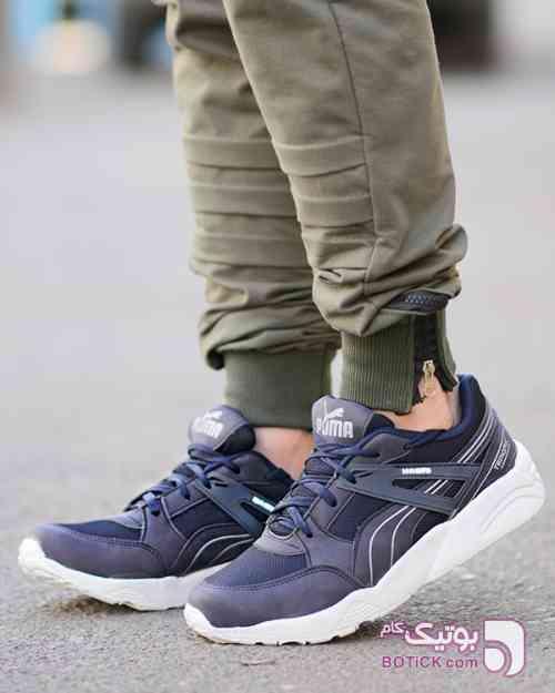 کفش ورزشی PUMA سورمه ای كتانی مردانه