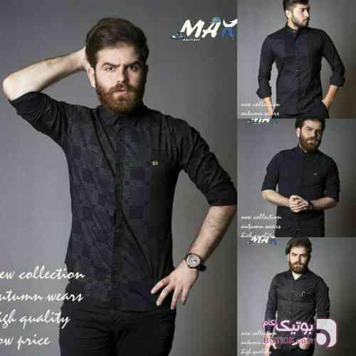 پیراهن مشکی مردانه مناسب محرم مشکی پيراهن مردانه