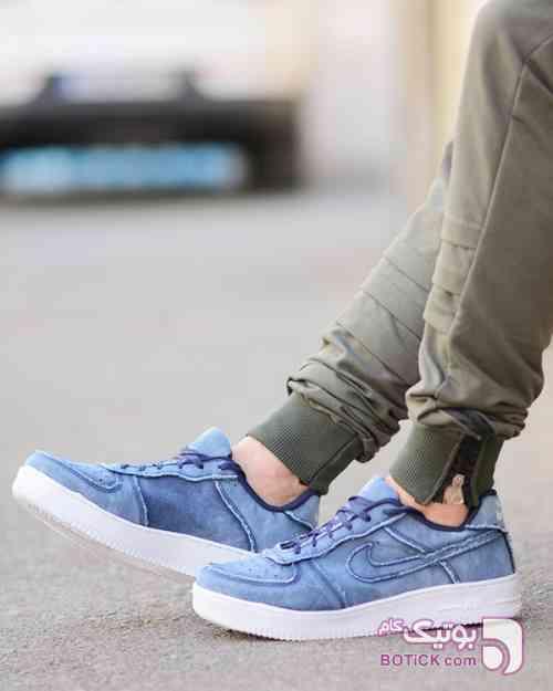 کفش کژوال آبی كتانی مردانه