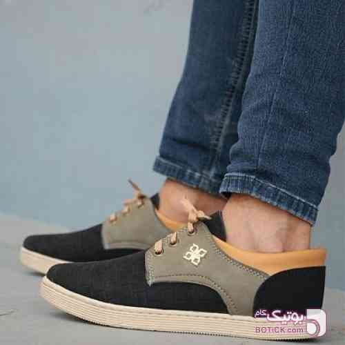 کفش مردانه مدل bon مشکی كفش مردانه