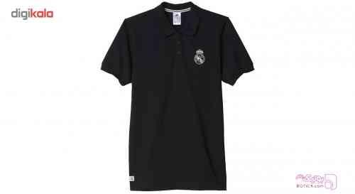 پلو شرت مردانه آديداس مدل Real Madrid مشکی تی شرت مردانه