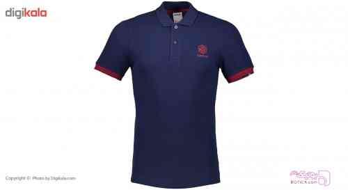 پلو شرت مردانه ريباک مدل F سورمه ای تی شرت مردانه