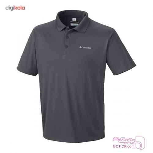 پلو شرت مردانه کلمبيا مدل Zero Rules طوسی تی شرت مردانه