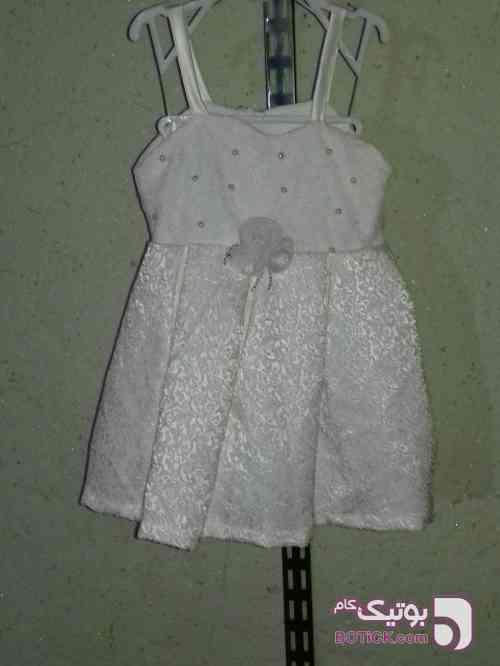 لباس بچگانه سفید لباس کودک دخترانه