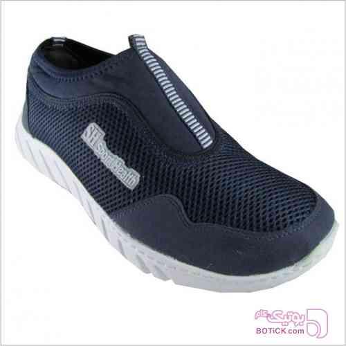 کفش اسپورت هلث مدل 4004 آبی كتانی مردانه