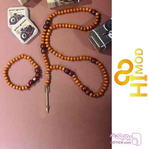 ست دستبند گردنبند نارنجی دستبند و پابند