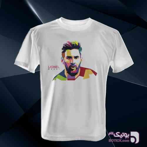 تیشرت Lionel Messi سفید تی شرت مردانه
