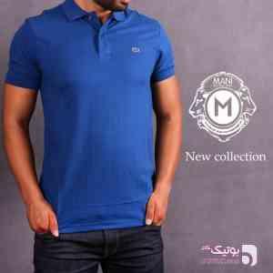 پلو شرت مردانه LACOSTE آبی 96 17
