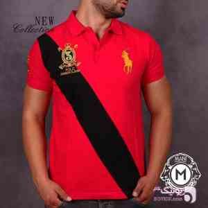 تیشرت مردانه POLO RALPH LAUREN قرمز 96 17
