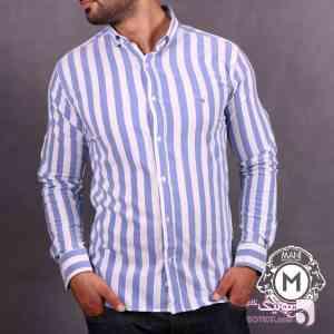پیراهن مردانه GANT آبی 96 17