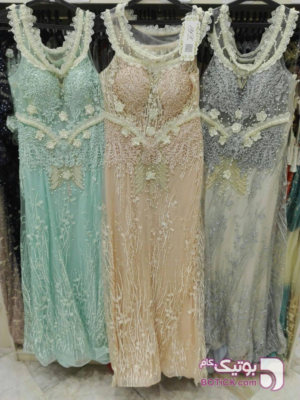 لباس شب و مجلسی صورتی لباس  مجلسی