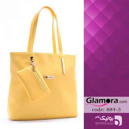 کیف زنانه LOUIS VUITTON زرد كيف زنانه