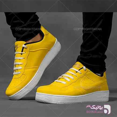 کفش نایک مردانه زرد زرد کفش ورزشی