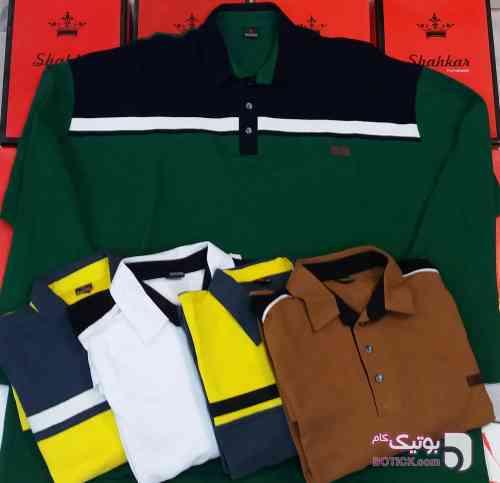 تیشرت جودون سبز سایز بزرگ مردانه