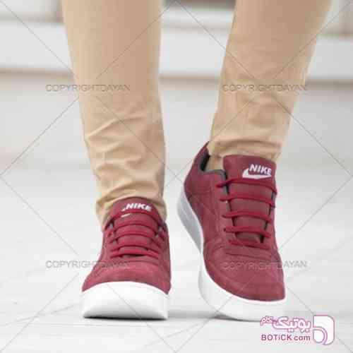 کفش مردانه نایک جگری قرمز کفش ورزشی