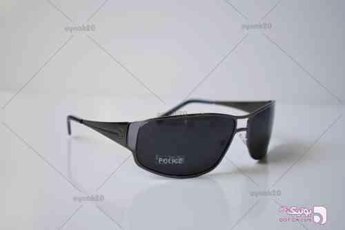 عینک افتابی پلیس مدل P3035 طوسی عینک آفتابی
