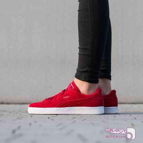 کفش اسپرت ورزشی پوما سوئده Puma Suede قرمز کفش ورزشی