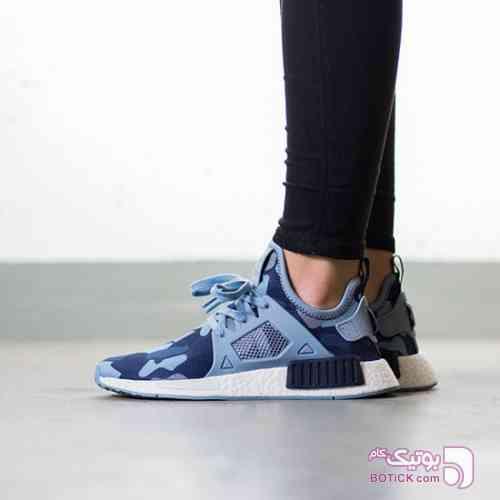 کفش اسپرت ورزشی ادیداس  Adidas NMD آبی كتانی مردانه