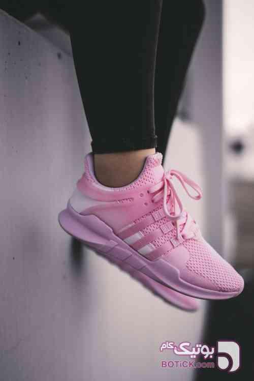 کتانی اسپرت ورزشی ادیداس  Adidas EQT صورتی كتانی زنانه