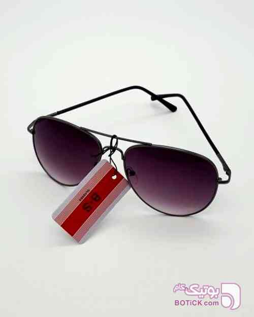 B.S GLASSES فریم و لنز دودی طوسی عینک آفتابی
