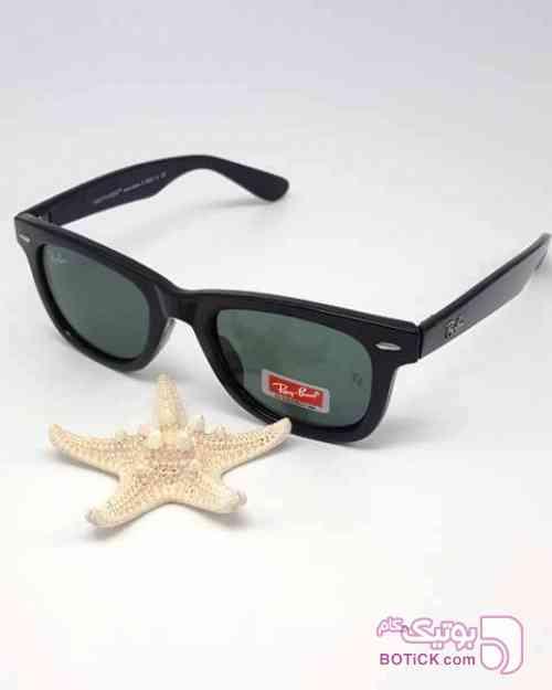 RAY_BAN  wayfarer طرح جدید ریبن مشکی عینک آفتابی