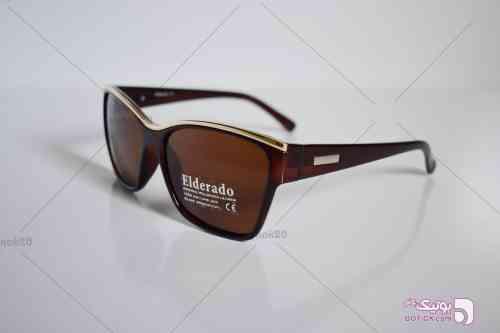 عینک آفتابی الدرادو مدل E1010 قهوه ای عینک آفتابی