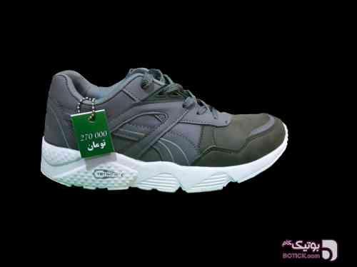 کفش کتونی دخترانه نقره ای كتانی زنانه