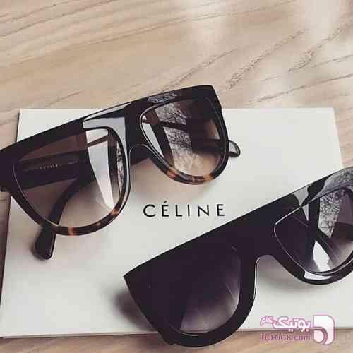 Celine مشکی عینک آفتابی