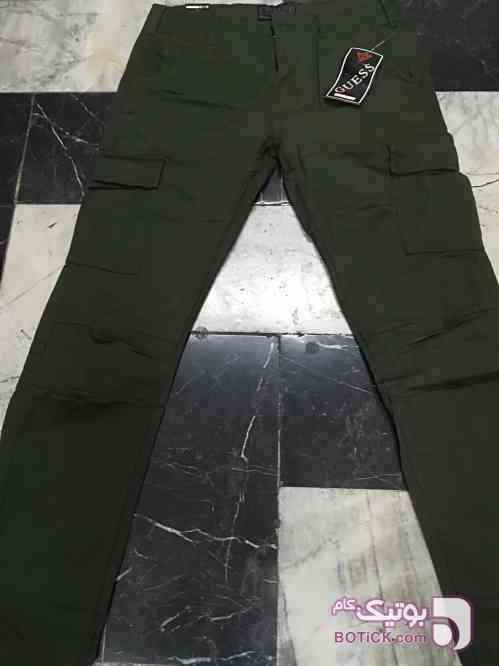 شلوار 6 جیب سبز شلوار مردانه
