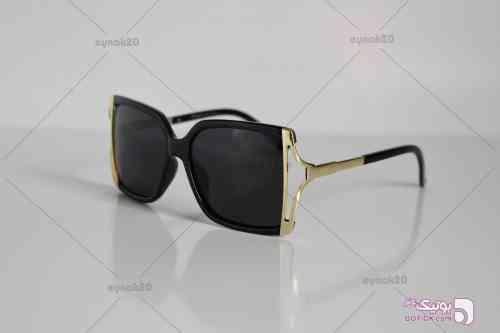 عینک آفتابی الدرادو مدل E1025 مشکی عینک آفتابی