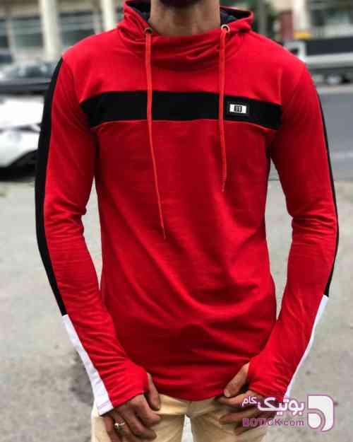 سوییشرت مردانه قرمز قرمز سوئیشرت مردانه