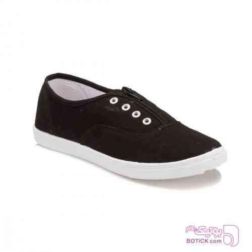 کفش_راحتی مشکی كفش زنانه