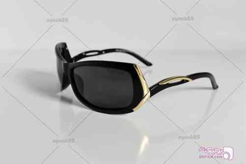 عینک آفتابی الدرادو مدل E1030 مشکی عینک آفتابی