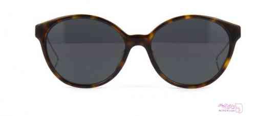 عینک آفتابی پنتوس زنانه Dior- قهوه ای لاک پشتی و آبی آبی عینک آفتابی