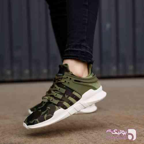 کتانی اسپرت ورزشی ادیداس  Adidas EQT سبز کفش ورزشی