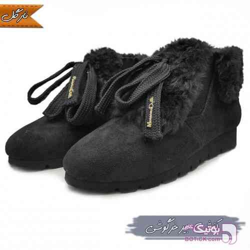 کفش زنانه مشکی بوت زنانه