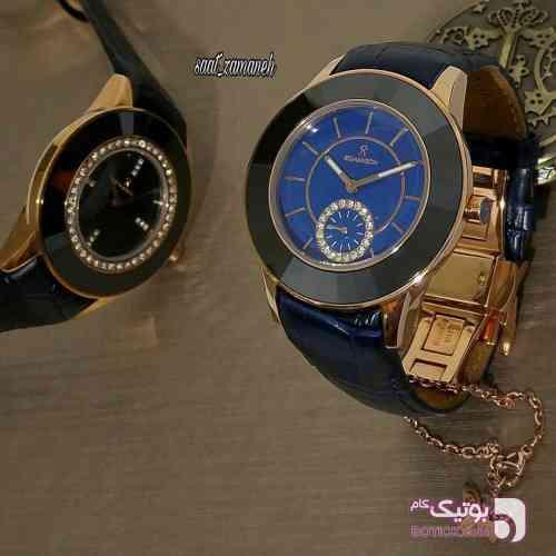 Romanson زنانه مشکی ساعت