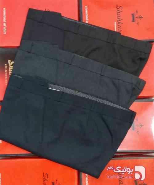 انواع شلوار پارچه ای مشکی سایز بزرگ مردانه